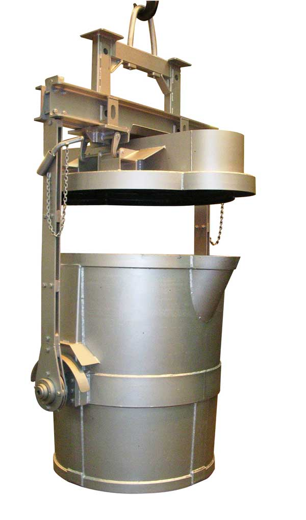Treatment ladles for the production of ductile (S G ) iron