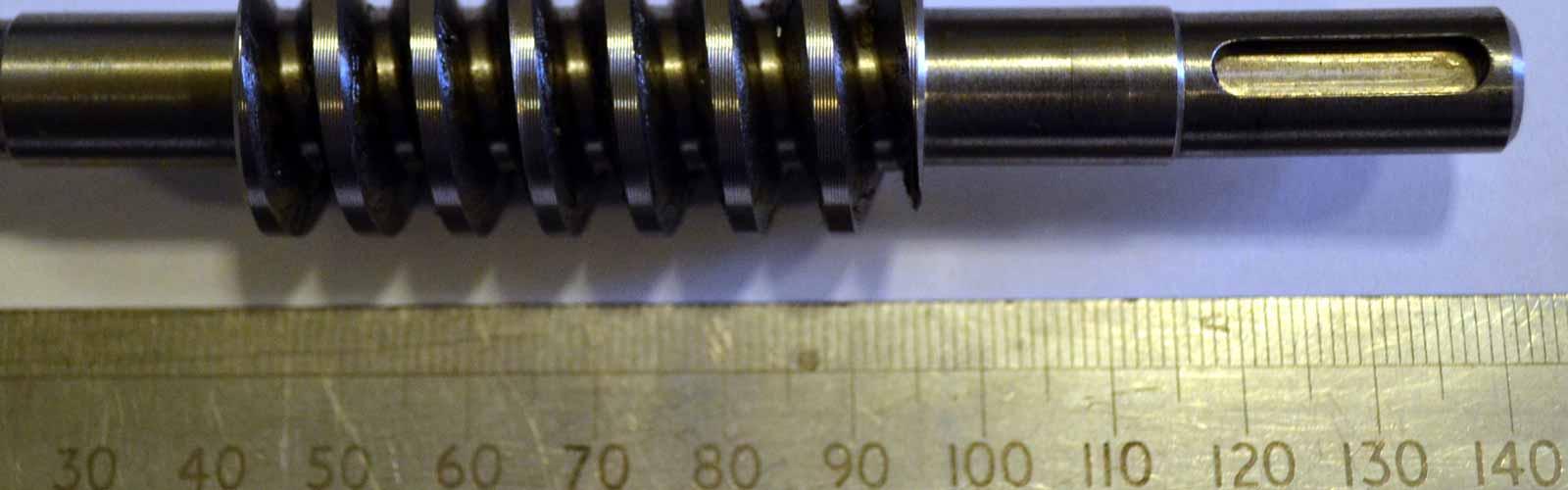 Gear cutting, yorkshire, allan-Green-acetarc-gear-cutting-small-worm